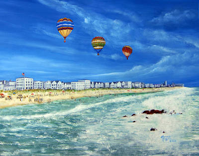 New Jersey Shore Art Print