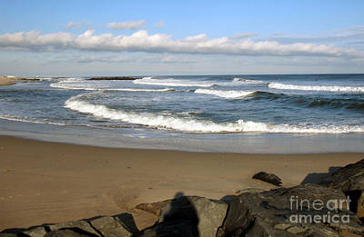 Photograph - New Jersey Shore Near Spring Lake by NightVisions