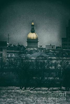 Photograph - New Jersey State House by Nicola Fiscarelli