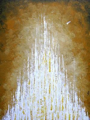 Jerusalem Painting - New Jerusalem by Joanna Cieslinska