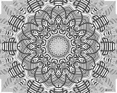 Digital Art - New Journey Tile Print 1 by Brian Johnson