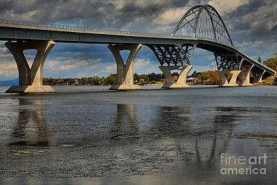 Photograph - New Lake Champlain Bridge by Adam Jewell