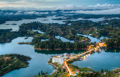 Guatape Photograph - New Lands by Alejandro Tejada