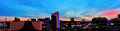 Photograph - New Las Vegas Day by Benjamin Yeager