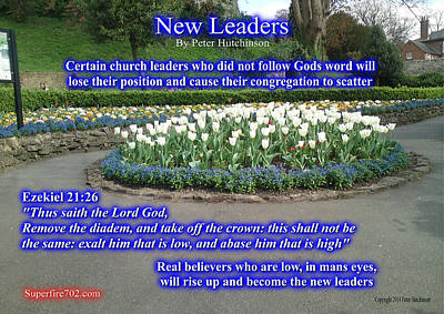 Photograph - New Leaders by Bible Verse Pictures