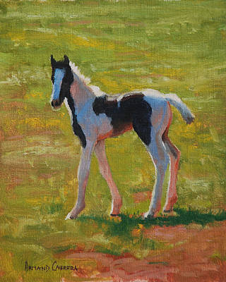 Filly Painting - New Legs by Armand Cabrera