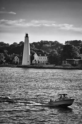 Photograph - New London Harbor Light by Ben Shields