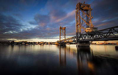 Photograph - New Memorial Bridge by Robert Clifford