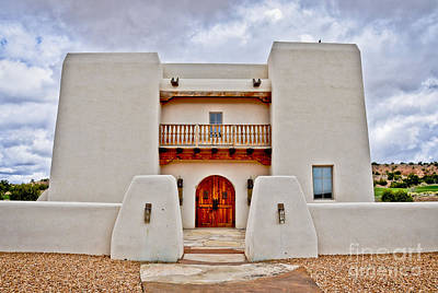 Art Print featuring the photograph New Mexican Hideaway by Gina Savage