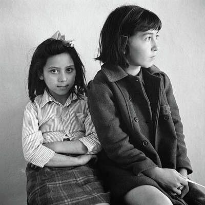 Mexican Sister Photograph - New Mexico Health Clinic by Granger