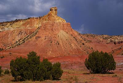 Photograph - New Mexico Landscape 2 by Robert Lozen