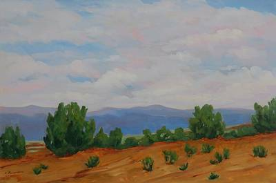 Painting - New Mexico by Liliane Fournier