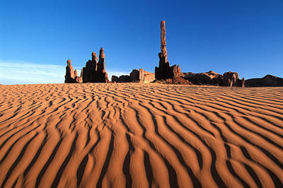 Erodes Photograph - New Mexico Monument Valley  by Anonymous