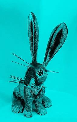 Photograph - New Mexico Rabbit Turquoise  by Rob Hans