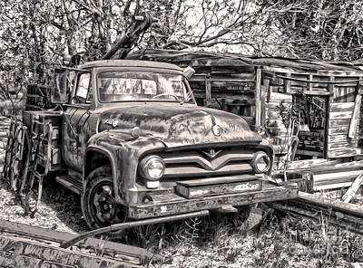 Photograph - New Mexico Rust Bucket by Gregory Dyer