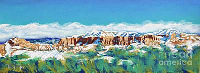 New Mexico Skyline Original by Tracy L Teeter