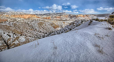 Photograph - New Mexico Snow by Chris Multop