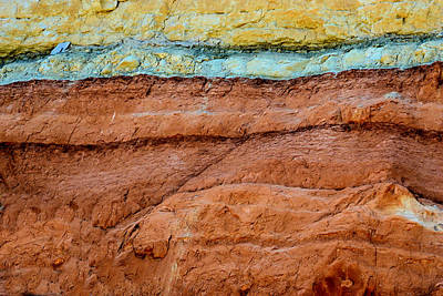 Photograph - New Mexico Strata by Nadalyn Larsen