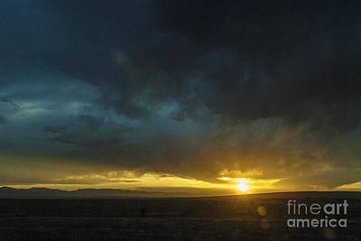 Photograph - New Mexico Sunset by Mark Avery