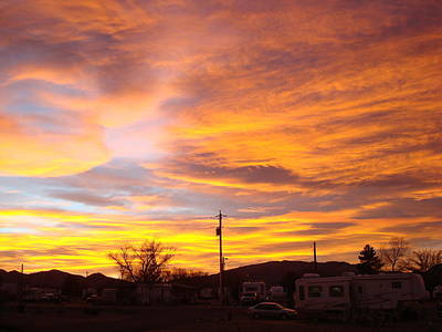 Photograph - New Mexico Sunset by Susan Woodward