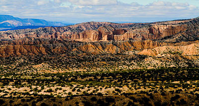 Photograph - New Mexico View by Atom Crawford