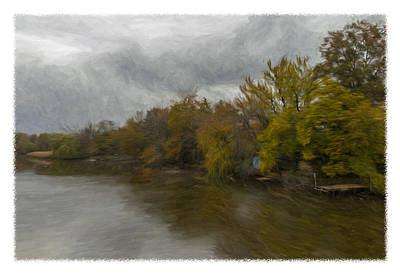 New Milford By Water Side Art Print