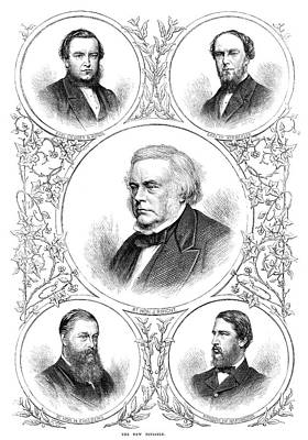 Huntington Painting - New Ministry, 1869 by Granger