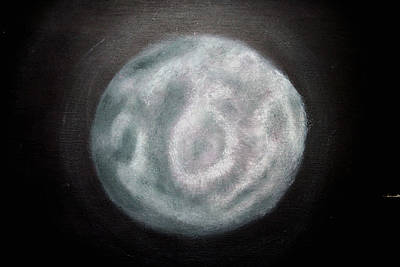 Painting - New Moon by Joel Loftus