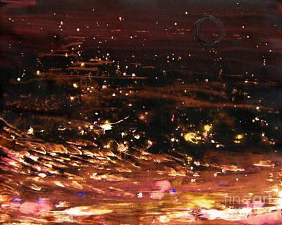New Moon Sea Stars Art Print