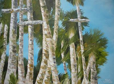 Unusual Christian Painting - New Morning Rising by Ralph Loffredo