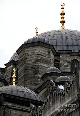 Photograph - New Mosque Domes by John Rizzuto