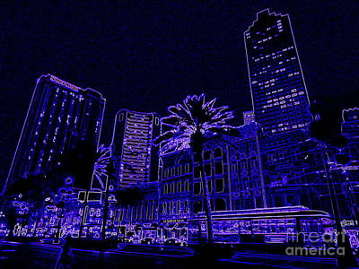 Photograph - New Orleans Neon And All Those Blues by Michael Hoard