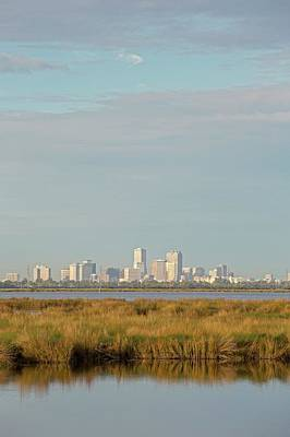 Orleans Photograph - New Orleans And Surrounding Wetlands by Jim West
