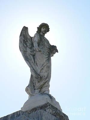 New Orleans Angel 2 Art Print by Elizabeth Fontaine-Barr