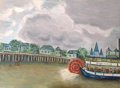 Natchez Painting - New Orleans by Asuncion Purnell
