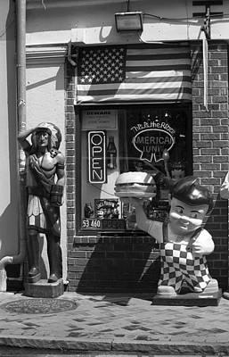 New Orleans - Bourbon Street 26 Art Print by Frank Romeo