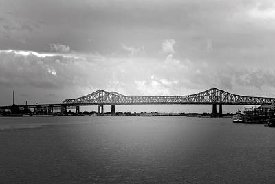 New Orleans Ccc Bridge Art Print by Christine Till