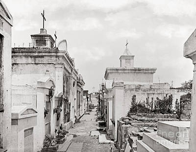 New Orleans: Cemetery Art Print by Granger