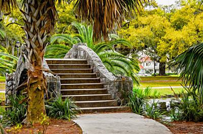 Achieving - New Orleans - CIty Park Bridge 2 by Steve Harrington