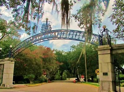 Photograph - New Orleans City Park - Entrance by Deborah Lacoste