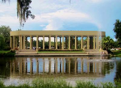 Photograph - New Orleans City Park - Peristyle by Deborah Lacoste
