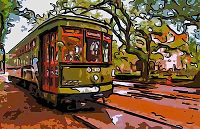 New Orleans Classique Line Art Art Print by Steve Harrington