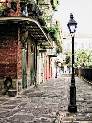Photograph - New Orleans Cobblestone by Heather Green