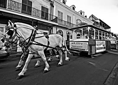 Funeral Procession Photograph - New Orleans Cortege  by Steve Harrington