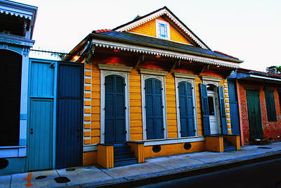 Creole Cottage Wall Art - Photograph - New Orleans Creole Cottage by Ryan Burton