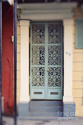 Photograph - New Orleans Door by Heather Green