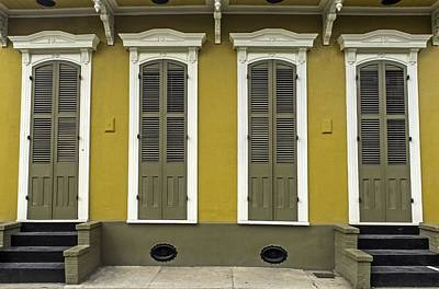 Photograph - New Orleans Doors And Windows by Willie Harper