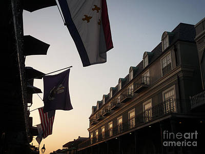 Evening In New Orleans Art Print by Valerie Reeves