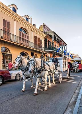 New Orleans Oil Photograph - New Orleans Funeral by Steve Harrington