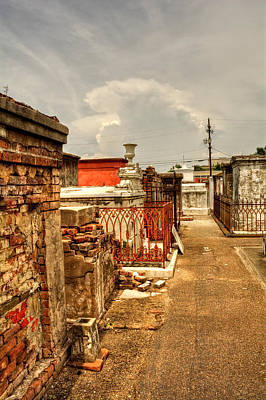 Photograph - New Orleans Graveyard by Chrystal Mimbs